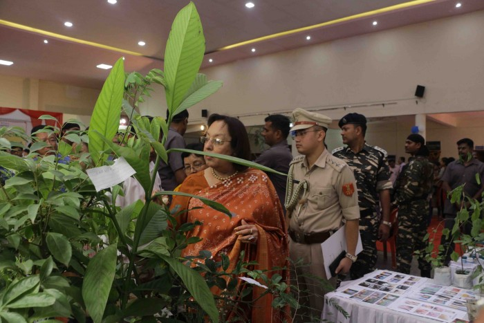 Launch of National Campaign & State Level Buyers-Sellers Meet on Medicinal Plants held on 25th Octob