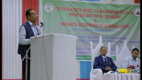 Interactive meet on Medicinal Plants with Traditional Healers & 365 Days Activities at School Level